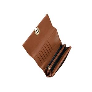 Genoveva-Bill and card case-Cognac