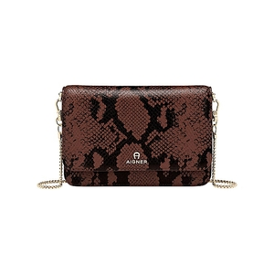 Fashion-Bill and card case-Bitter chocolate brown