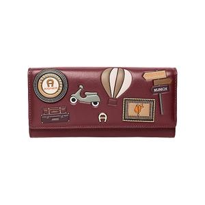 Fashion-Bill and card case-Burgundy